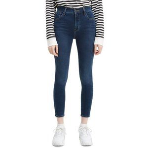 Levi's Women's 720 High Rise Super Skinny Cropped